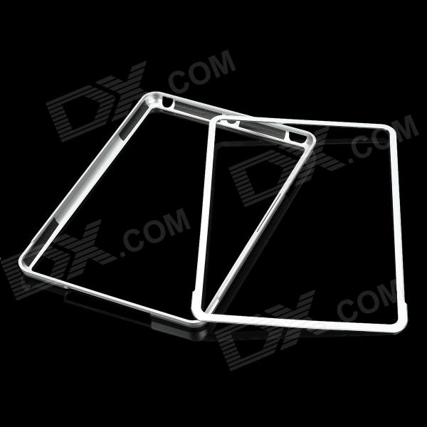 Protective Aluminum Alloy Bumper Frame for Ipad MINI - Silver 16mm bore 100mm stroke aluminum alloy pneumatic mini air cylinder mal16x100 free shipping