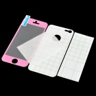 IPH5 Shimmering Frosted AR Full Body Protectors for iPhone 5 - Pink