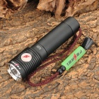 FEREI 520 Cree XP-G R5 320lm 3-Mode Memory White USB Powered Flashlight - Black (1 x 18650)
