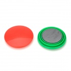 FuNi CT-6651 Aimants ronds - Noir + Blanc + Vert + Rouge + Jaune + Bleu (6 PCS / 50 x 10mm)