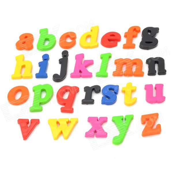 Small Letters Magnets Set (26 PCS)