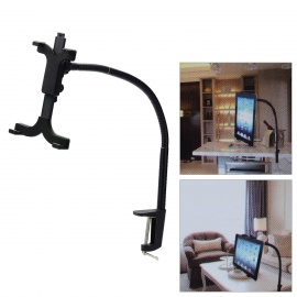 """ZEA-LR1 Lazy Person's Universal 360 Degree Rotational Holder for 7~10"""" Tablet PC - Black"""