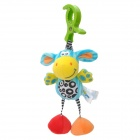 Lokyee 7109 Donkey Shaped Pulling Vibration Bell Bed Hanging Toy w/ Clip for Baby