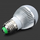 TOHDA TH-LED-4-B E27 4W 350~450lm 6500K 4-LED White Lamp - Silver + White