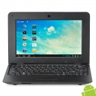 "710A 10"" Screen Android 4.1.1 Netbook w/ Wi-Fi / RJ45 / Camera / HDMI / SD Slot - Black"