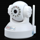 loosafe LS-IP601 300KP Security Surveillance IP Network Camera w/ Wi-Fi / 11-IR LED - White