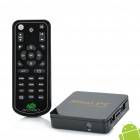 U2M Android 4.0 Network Media Player w/ Wi-Fi / HDMI / TF / RJ45 / 2 x USB - Black (4GB)