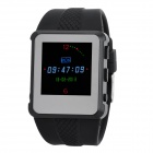 "AD668 1.5"" TFT LCD Multi-Media Player Wrist Watch w/ FM / TF - Black + Silver (4GB)"