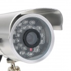 Loosafe LS-H820SD Automatic Waterproof 300KP CMOS CCTV Video Camera w/ TF / IR Night Version
