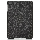 Shining Sequins Pattern Protective Plastic Back Case for Ipad MINI - Black