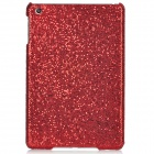 Shining Sequins Pattern Protective Plastic Back Case for Ipad MINI - Red