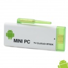 Dual-Core Android 4.1.1 Google TV Player w / Wi-Fi / TF / 1GB RAM / 4GB ROM - White