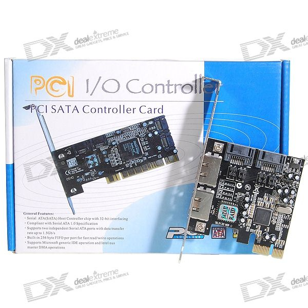 2-Port eSATA + 2-Port SATA PCI-E Express Expansion Card виниловая пластинка elvis costello all this useless beauty