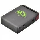 Heacent TK102B Imán GSM / GPRS / Personal Tracker GPS w / TF Slot - Deep Gris + Coffee
