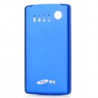 BEST 8800 Card Style Portable External 3500mAh Power Battery Charger for Iphone / Ipad - Blue