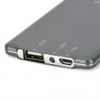 BEST 8800 Card Style Portable External 3500mAh Power Battery Charger for Iphone / Ipad - Iron Grey
