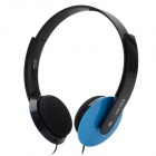 Salar EM335 Stylish Headphones Headset - Blue + Black