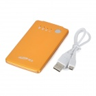 BEST 8800 Card Style Portable 3500mAh Power Battery Charger for Iphone/Ipad - Golden Yellow