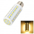 E27 8W 44-5050 SMD LED 520LM 4500K Warm White Light Maize Lamp (85~265V)