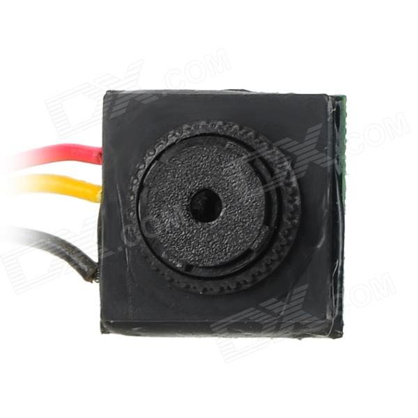 205M760 Mini 1/4 CMOS NTSC Camera - Black + Red + Yellow - DXCCTV Cameras<br>Brand N/A Model 205M760 Material PCB + plastic Quantity 1 Color Black + red + yellow Sensor type CMOS colorful image sensor Sensor size 1/4 inch Pixel/Line 500 Pixel/Lines Lens Pinhole Wide Button View Angle 90 Picture Resolution 1280 x 960 Video format N/A Daytime distance 10m Electronic Shutter speed 1/60 1/100 000s Minimum illumination 0.5Lux Night vision NO IR-LED Quantity N/A Night vision distance N/A Motor N/A Rotation angle N/A Local memory N/A Memory Card N/A Max. Memory Supported GB S/N Ratio &gt;48dB Waterproof NO Water Resistant N/A Power Supply DC 12V Other Cable length: 70cm system NTSC Packing List 1 x Camera 1 x Chinese / English manual<br>