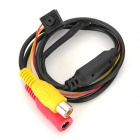 205M760 Mini 1/4 CMOS NTSC Camera - Black + Red + Yellow