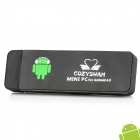 COZYSWAN CS102 II Android 4.0 Google TV Player w / Wi-Fi / HDMI / 1GB RAM - Black