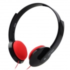 Salar EM335 Stylish Headphones Headset - Black + Red