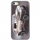 Cool 3D Car Pattern Protective Back Case for Iphone 5 - Grey