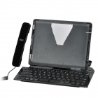iPega PG-IP099 Folding Bluetooth v2.1 65-Key-Tastatur für iPad 2 / New iPad - schwarz