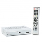 MINIS930A Satellite TV Receiver w/ SPDIF / RJ45 / RS232 / HDMI - White + Silver