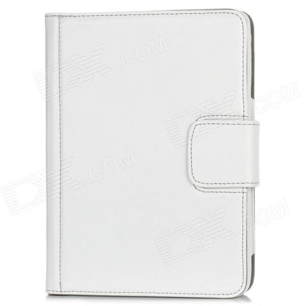 Bluetooth v3.0 80-Key Keyboard Case for Ipad MINI - White