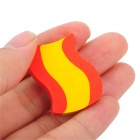 Germany / Canada / England Six Countries National Flag Style Rubber Eraser - Multicolor (18 PCS)
