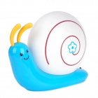 Snail Shaped 3W 270lm Energy Saving USB Rechargeable White LED Light Desktop Lamp - Blue