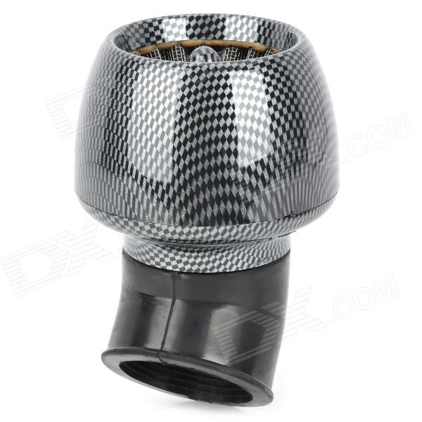 48mm Diameter Universal Air Filter for Scooter Motorcycle - Black + Grey epman universal 3 aluminium air filter turbo intake intercooler piping cold pipe ep af1022 af
