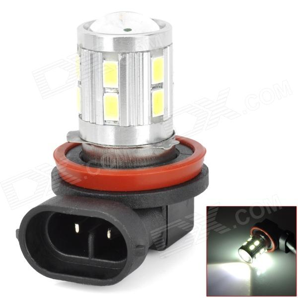 WU3101091150 H8 8W 400lm 6500K White Light 13-LED Foglight for Car - Silver + Yellow + Black