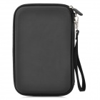 "Protective EVA Carrying Case Bag for 7"" GPS - Black"