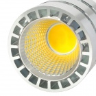 E14 5W 600lm 4000K 3500 ~ 1-COB LED Lamp Light Warm White - Silver + Blanco (85 ~ 265)