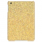 Shining Sequins Pattern Protective Plastic Back Case for iPad Mini - Golden