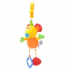Lokyee 7109 Cute Colorful Mouse Style Vibration Vibrating Pull String Toy - Multicolor