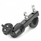 Aluminum Alloy Motorcycle Holder for DV / Camera - Black + Silver