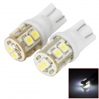 DIY 3.5W 50lm 6000K 10-SMD 1210 LED White Light Motorcycle Tail Turning Light - White + Yellow