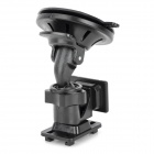 Car 360 Degree Swivel Suction Cup Mount Holder for GPS Radar - Black