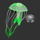 Emulation Small Jellyfish for Aquarium - Green + Transparent