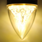 E27 4W 400lm 3500K 4-LED Warm White Light Bulb - Golden (85~265V)