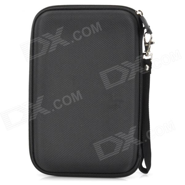 "Protective Nylon Carrying Case Bag for 7"" GPS - Black"