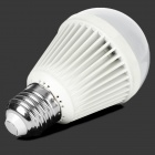 E27 5W 400lm 6300K 10-SMD 3528 LED White Light Bulb - White (220V)