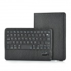 Protective ABS Bluetooth v3.0 59-key Keyboard Case w/360 Degree Rotary Holder for iPad Mini - Black