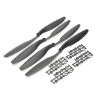"12 x 4.5"" 1245 Carbon Nylon Propeller for Four-axis / Multirotor Aircraft - Black (4 PCS)"