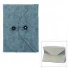 Protective PU Leather Case for iPad 4 - Blue