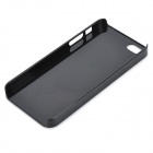 Hardware Drawing Protective Plastic Back Case for Iphone 5 - Black